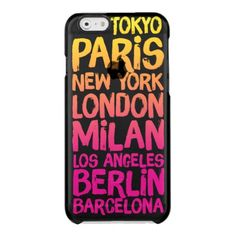 Favorite Cities Neon Uncommon Clearly™ Deflector iPhone 6 Plus Case Iphone 6 Plus Case, Iphone 7 Cases, Iphone 8, Cities, Kate Spade Iphone, Cool Cases, Iphone Case Covers, Memes, Tokyo