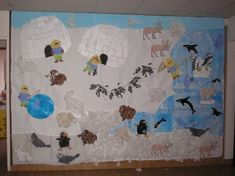project around the North Pole, the cold - animals Dramatic Play Themes, Polar Animals, Winter Project, North Pole, Winter Activities, Winter Theme, Art Plastique, Preschool, Animation