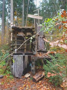 forest school making furniture - Google Search