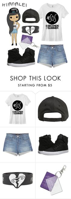 """""""Character #2"""" by x-sweetea-x ❤ liked on Polyvore featuring xO Design, Billabong, J Brand and Supra"""