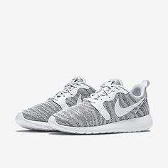 505a3630e4f9 Nike Roshe Run Knit Jacquard White Cool Grey for women will be releasing in  the United States soon.