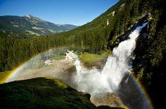 Krimmler Wasserfälle, Austria