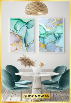 Let yourself be inspired by our watercolor posters. Discover them now! Living Room Decor, Bedroom Decor, Glam Bedroom, Tattoo Watercolor, Watercolor Trees, Watercolor Animals, Watercolor Background, Watercolor Landscape, Abstract Watercolor