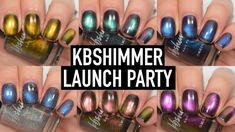 KBShimmer - Launch Party | Swatch and Review