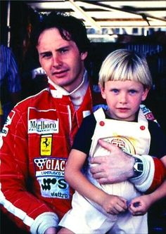 Gilles witha young fan