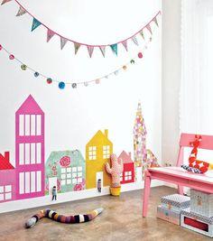 Kinderzimmer Wanddeko