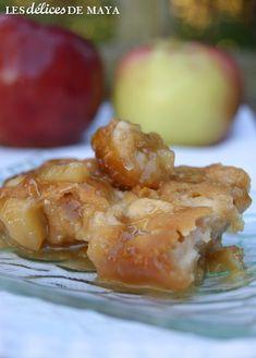 Les délices de Maya: Pouding chômeur aux pommes de Marylo