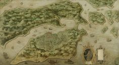 View of Ambon, anoniem, c. 1617