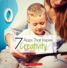 7 apps that encourage kids to create visual images and stories.