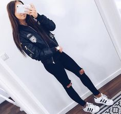 Image about fashion in outfit goals by sof on We Heart It Teenage Outfits, Outfits For Teens, Trendy Outfits, Winter Outfits, Summer Outfits, Fresh Outfits, Look Fashion, Girl Fashion, Fashion Outfits