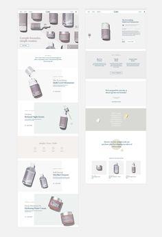 What Skincare - Cori Corinne Ppt Design, Social Media Design, Brochure Design, Layout Design, Cosmetic Web, Cosmetic Design, Ecommerce Web Design, Wordpress Theme Design, Website Layout