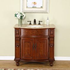 50+ Used Bathroom Vanity Cabinets - Popular Interior Paint Colors Check more at http://1coolair.com/used-bathroom-vanity-cabinets/
