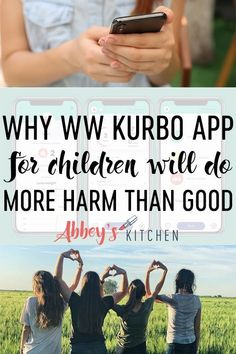 With the launch of WW's Kurbo app for children, I shed some light on why you should be way more worried about weight loss apps and dieting in general than your kid gaining weight.