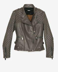 intermix online, motorcycle leather jacket