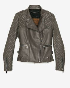 intermix online, motorcycle leather jacket