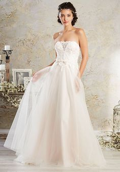 Alfred Angelo Modern Vintage Bridal Collection 8564 Wedding Dress - The Knot