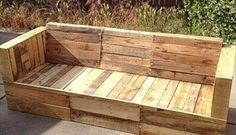 Pallet Furniture DIY - Recycled Pallets Projects Ideas & Plans - Part 11