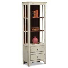 Bedroom Furniture - Keefe Bookcase - White
