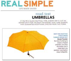 Davek in Real Simple. Guarantee exceptional shelter