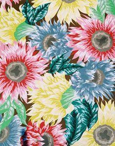 Sunflower Fabric Design