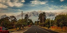 Picture from a resident of Katoomba - bushfires October 2013