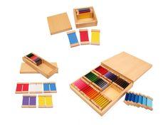 Sensorial Package 2 - Color Tablets I II & III
