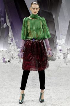 Chanel Fall 2012 Ready-to-Wear Collection Slideshow on Style.com