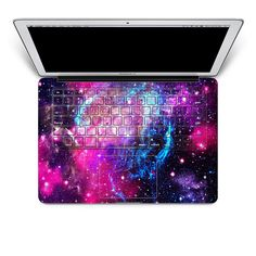"""11"""" MacBook Air    Pink Nebula Apple MacBook Keyboard Cover Decal Skin Sticker Protector Air Pro Retina 