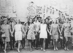 Manifestação contra o Regime Militar - Rio de Janeiro, 1968