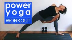 Power Yoga Workout ~ Letting Go - YouTube