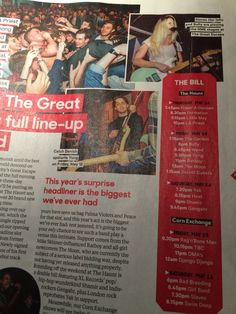 Fraser in the NME - April 2014