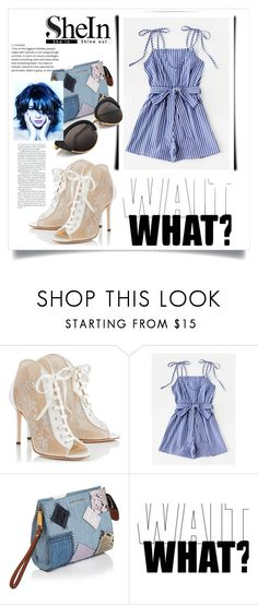 """""""shein"""" by bellamonica ❤ liked on Polyvore featuring Jimmy Choo and Marc Jacobs"""