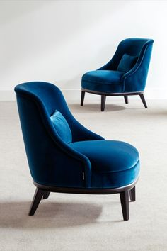 An elegant lounge chair with external wood base is a welcome addiction to any interior. Discover the Celedonio armchair by #HamiltonConte Large Chair, World Of Interiors, Accent Chairs For Living Room, Chair Upholstery, Home Accessories, Fashion Accessories, Furniture Design, Lounge, Couch