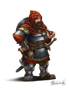 And here goes another dwarf from the same series with the previous two. Same…