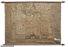 The find was about as rare as an earlier 1659 print of the same map (pictured) that surviv...