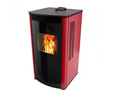Wood Pellet Burning Stove With One Touch Ignition Epa