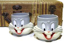 Bugs Bunny Cups Bugs Bunny Kids Cups Kids Mug Cups Looney