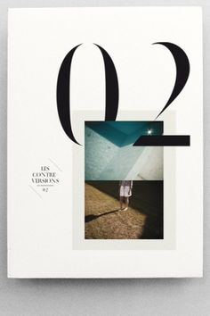 magazine    interaction between type image and illustration/texture/pattern