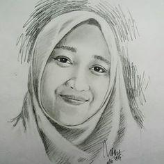 HBD @lintang_sadono Panjang Umurnya serta Mulia#art #drawing #pencil #hbd #beautiful #woman #instaart #love #beauty #instagood
