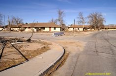 Base housing at George AFB.  In the day, this was a wonderful neighborhood!