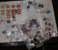37 sensor kit from sunfounder lab