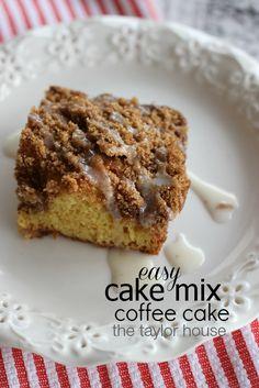 Chocolate coffee cake recipe using cake mix