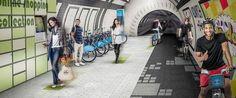 Revolutionäre Idee für London: Unterirdische Radwege! #bike #bicycle #tube #metro #london #underground