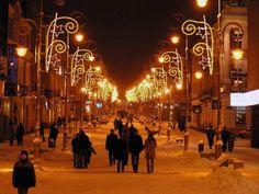fot. Adam Zych #street #christmaslights