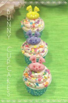 Easter Bunny cupcake rings!