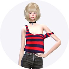 Sims 4 CC's - The Best: Tank Top by Marigold