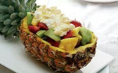 Ananas salad de fruits