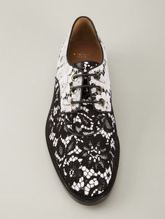 Givenchy Floral Lace Derby Shoes - Forty Five Ten - Farfetch.com