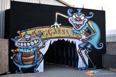 88/92 | Photo des soirées de l'horreur, Terenzi Horror Nights 2009 situé pour la saison d'halloween à @Europa-Park (Rust) (Allemagne). Plus d'information sur notre site http://www.e-coasters.com !! Tous les meilleurs Parcs d'Attractions sur un seul site web !!