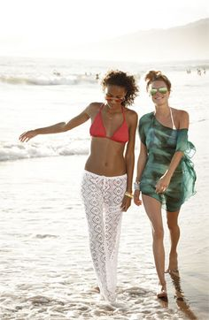 Awesome! Crochet cover-up pants